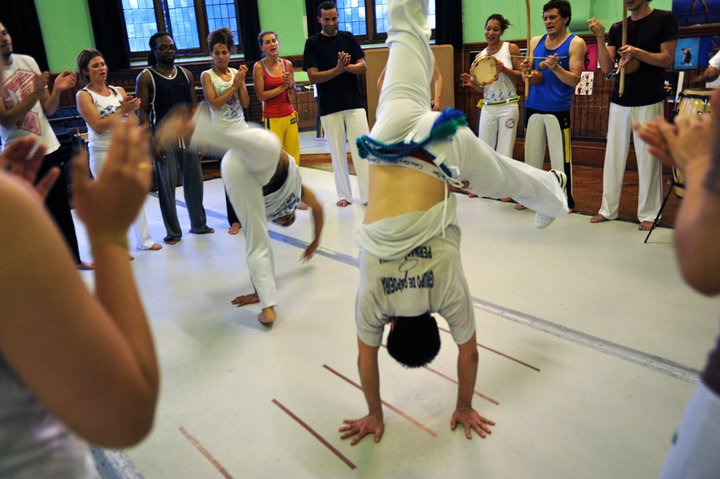 Abolicao Synergy Capoeira roda, Camberwell, South London 01