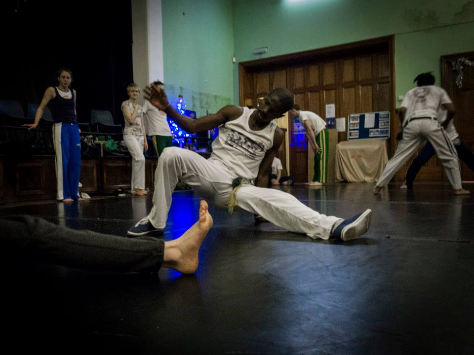 Abolicao Synergy Capoeira training, Longfield Hall, Camberwell, South London 09