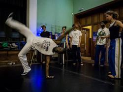 Abolicao Synergy Capoeira training, Longfield Hall, Camberwell, South London 07