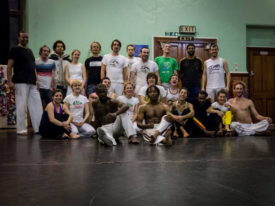 Abolicao Synergy Capoeira training, Longfield Hall, Camberwell, South London 13
