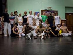 Abolicao Synergy Capoeira training, Longfield Hall, Camberwell, South London 13