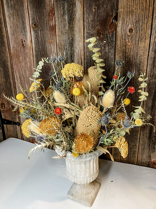 Large Dried Botanical Arrangement