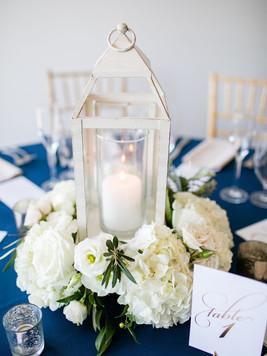 Lantern & table number