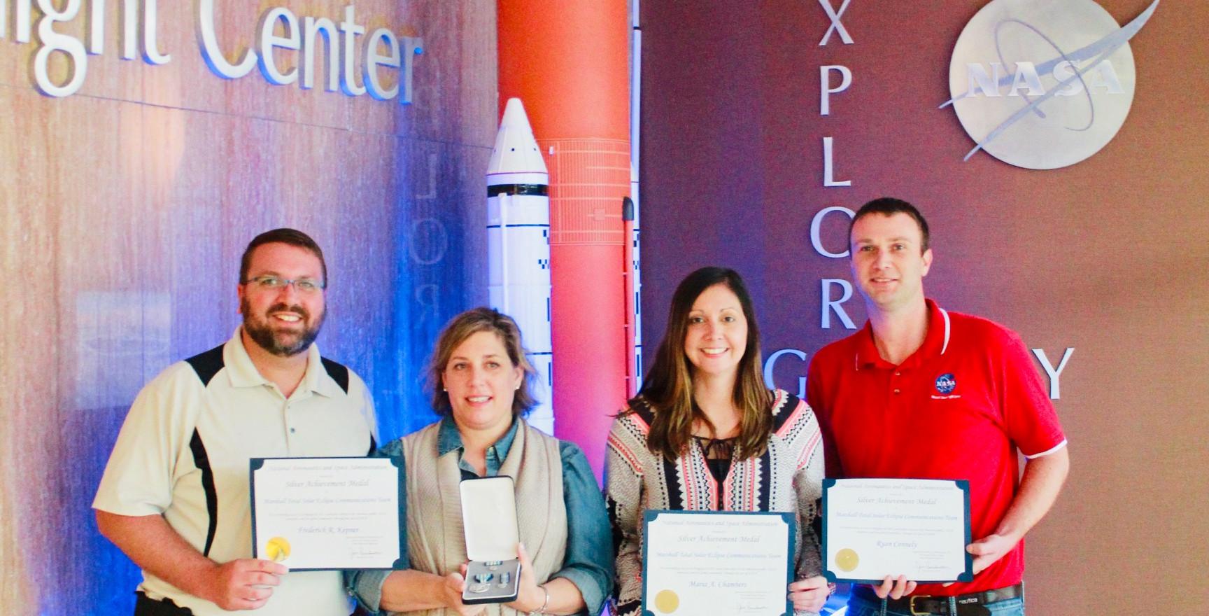 NASA Silver Achievement Award