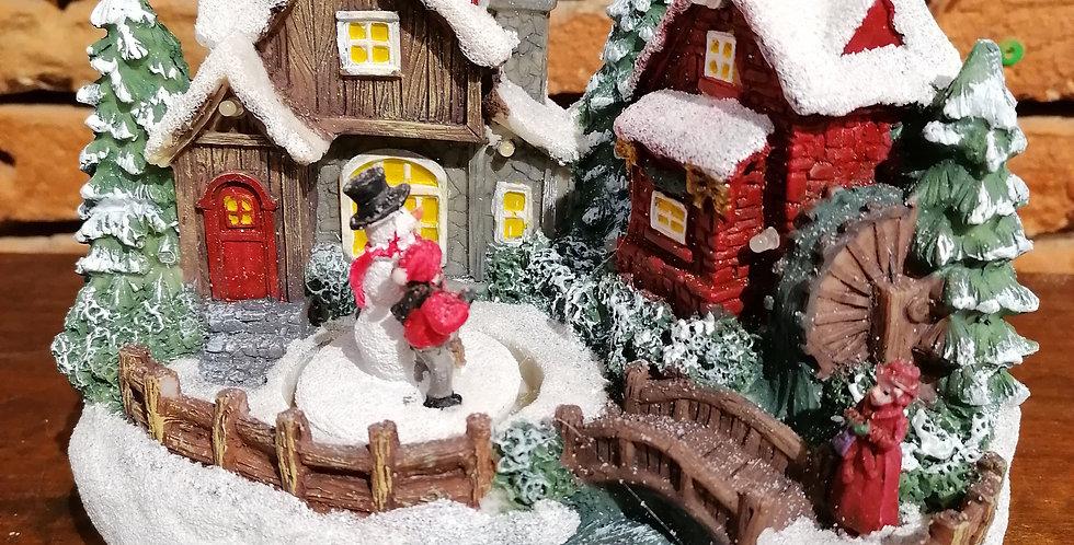 La maison du bonhomme de neige