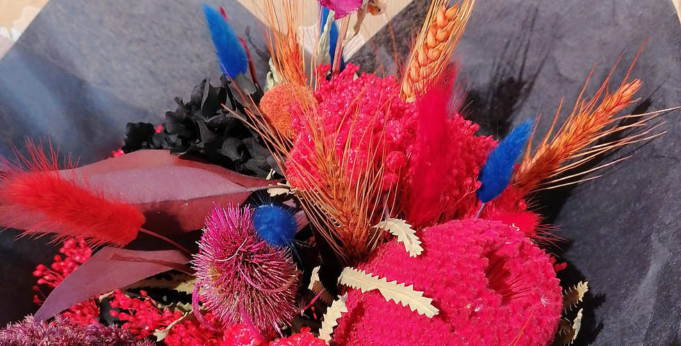 Bouquet désir rouge