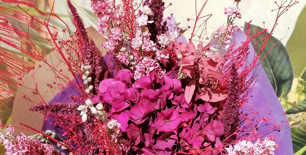 Le bouquet vif et peeps