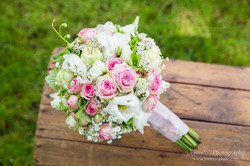 Bouquet champêtre sphérique