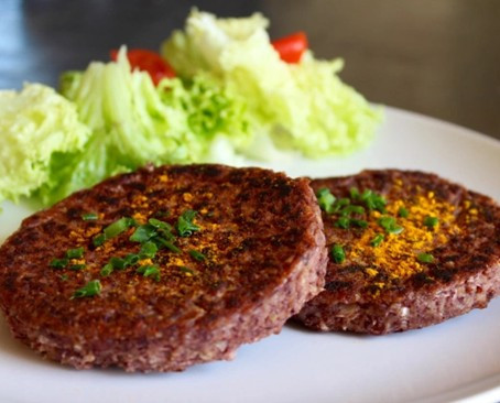 "Recette ""steak"" haricots rouge"