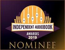 Independent Audiobook Award Nominee Badg