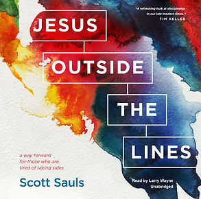 Jesus Outside the Lines, Final Cover, JP