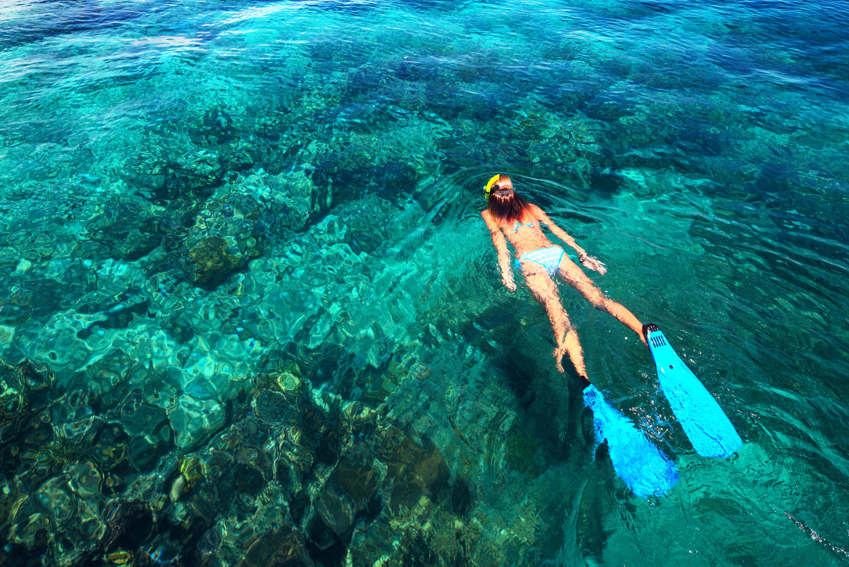 sailing charter fiji, snorkel