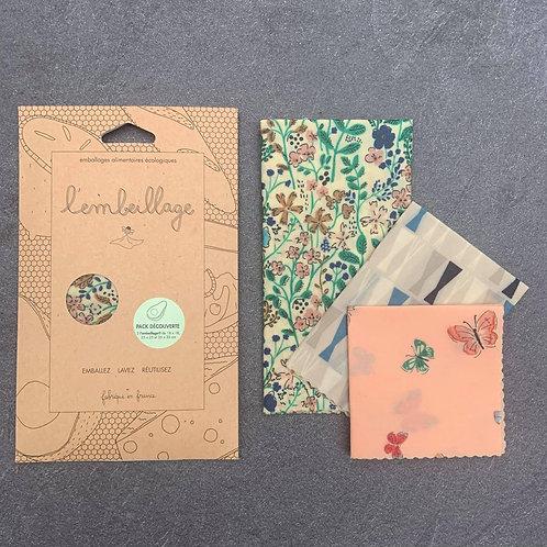Emballage alimentaire réutilisable 100% naturel