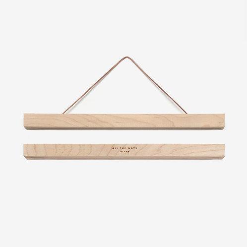 Cadre magnétique en bois 31 cm - All The Ways To Say