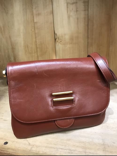 sac vintage couleur brique