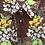 Chemisier vintage fleuris du Japon