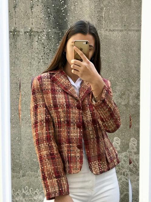 Veste tailleur vintage en acrylique