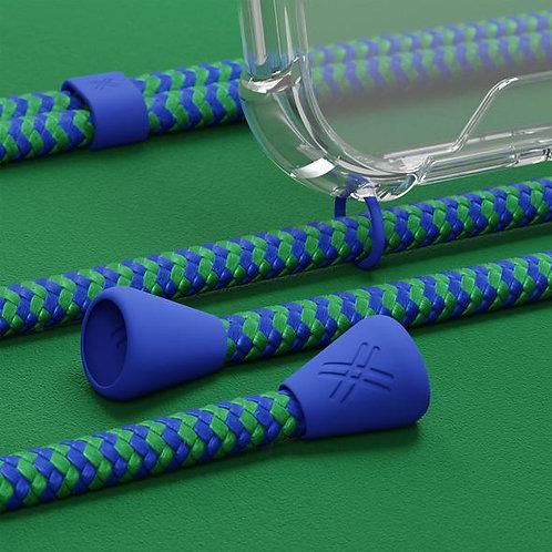 Coque XOUXOU vert et bleu - Yves Green