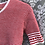 T-shirt vintage en tricot
