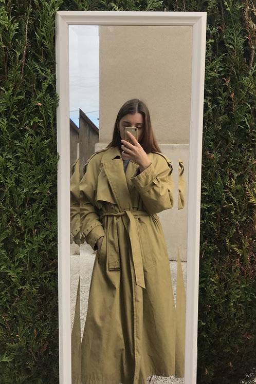 Trench doublé vintage
