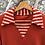 T-shirt col marinière vintage