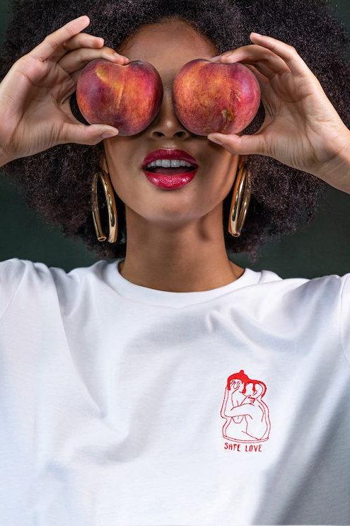 T-shirt Safe Love Duo - Chaud Marais