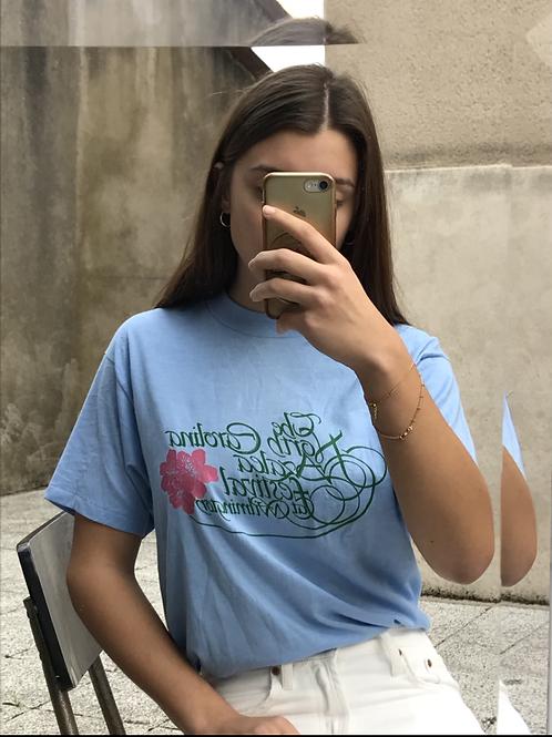 T-shirt à motif vintage