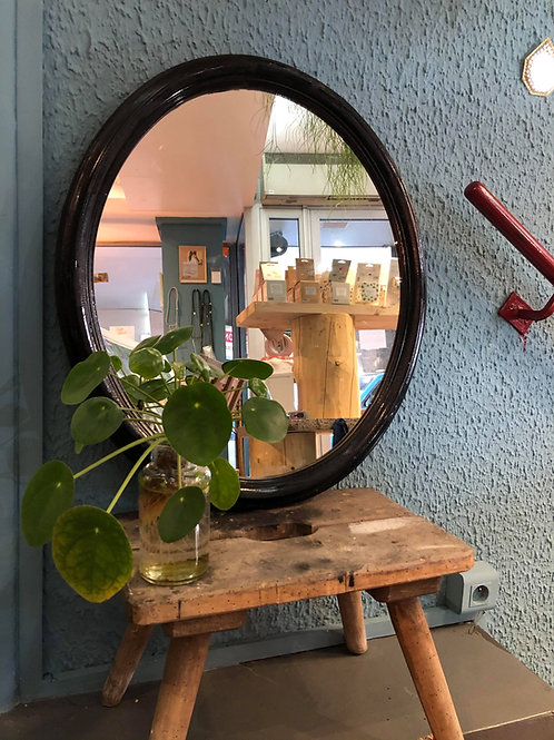 Miroir vintage en bois