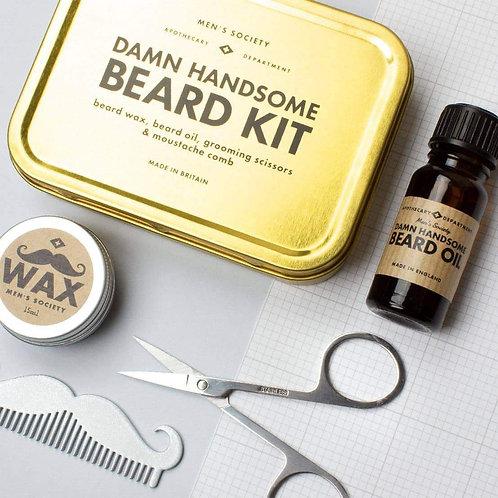 Kit d'entretien de barbe