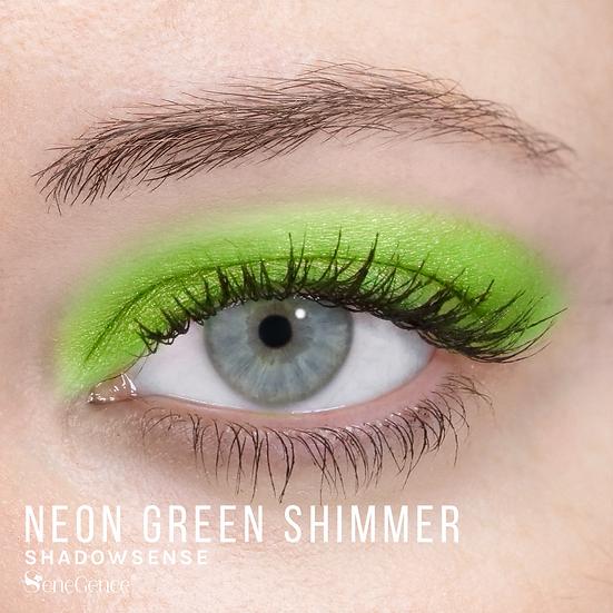 Neon Green Shimmer ShadowSense
