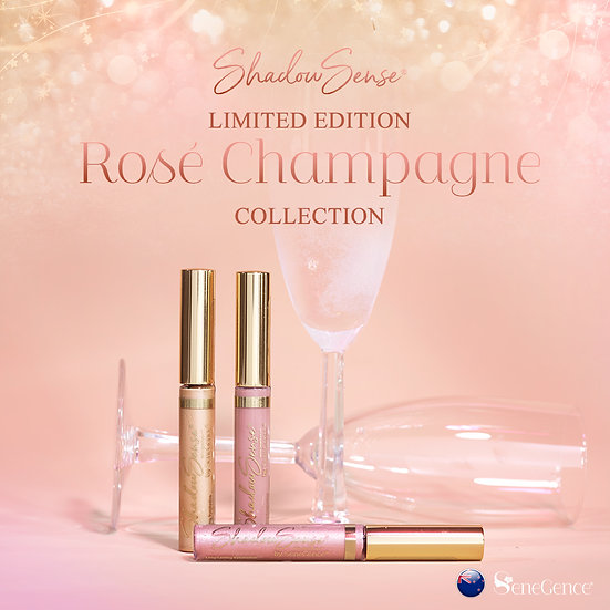 Limited Edition Rosé Champagne ShadowSense Collection