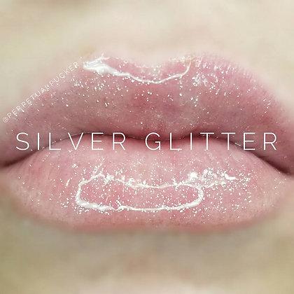 Silver Glitter Gloss