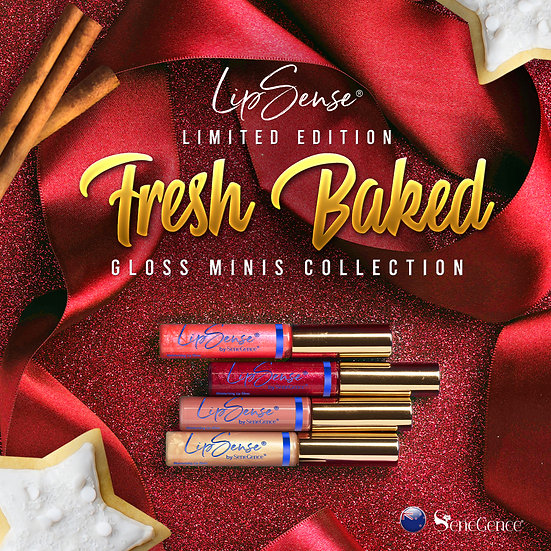 Limited Edition Fresh Baked Holiday Scented Gloss Mini Collection