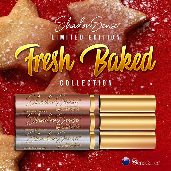 Limited Edition Fresh Baked Holiday ShadowSense Collection