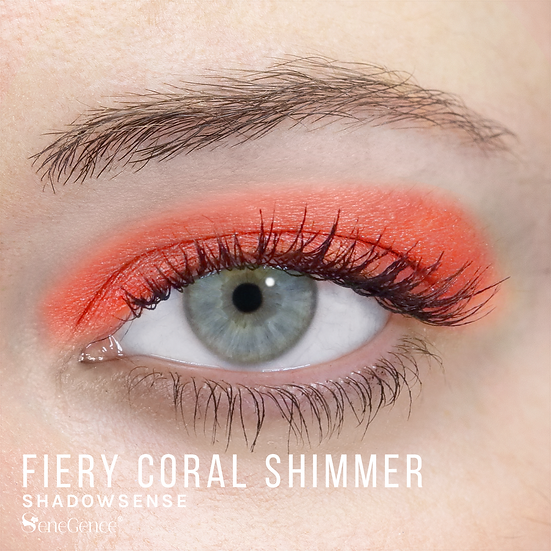 Fiery Coral Shimmer ShadowSense
