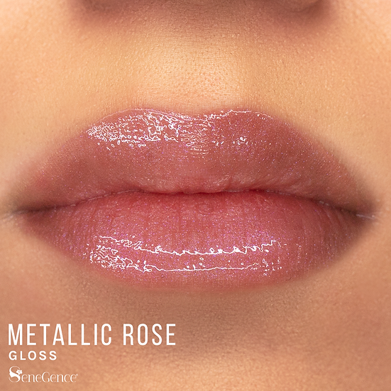 Metallic Rose Gloss