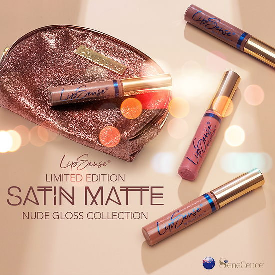 Limited Edition Satin Matte Nude Gloss Collection