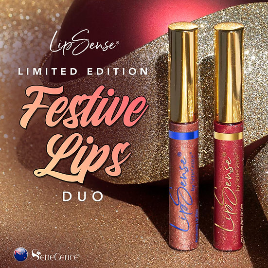 Limited Edition Festive Lips Duo with FREE Ooops Remover