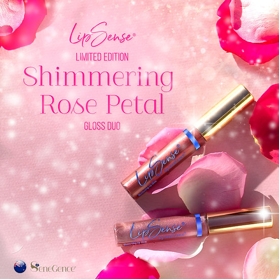 Limited Edition Shimmering Rose Petal Gloss Duo