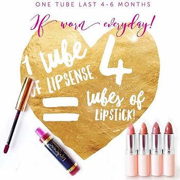 Lipsense vs lipstick