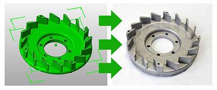 Послойное спекание порошка, загрузить 3d модель и получить деталь промышленного качества. Быстрое прототипирование.
