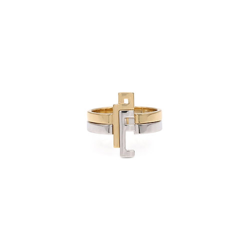 Thick Duo Rings- Plain
