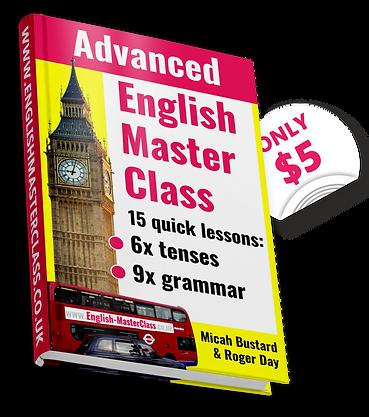 Kindle advanced English lessons