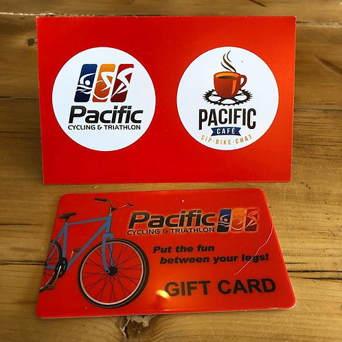 Pacific Cycling &Triathlon Gift Card
