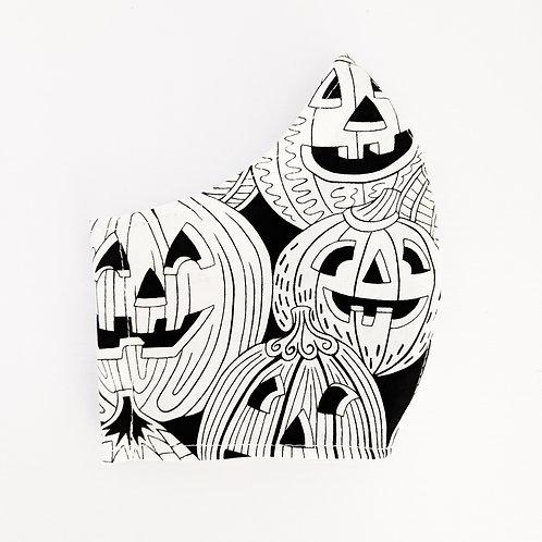 Jack-o'-lanterns Mask