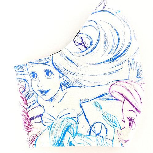 Ariel Sketch Mask