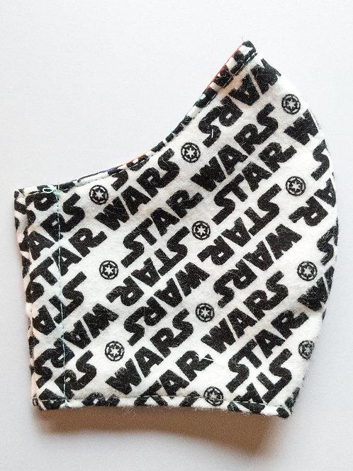 Star Wars: Black & White Logo Mask
