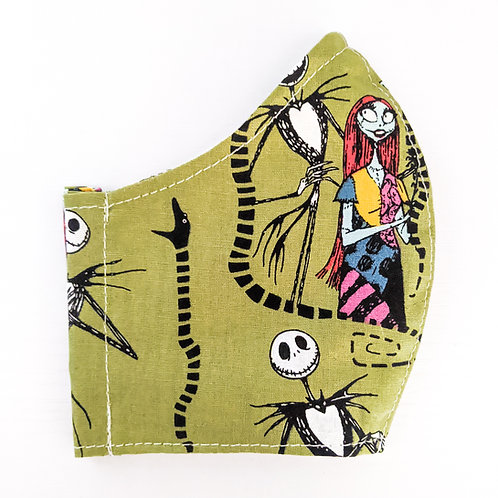 Green Jack & Sally Mask