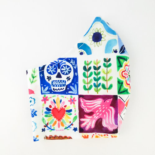 Mexican Tiles Mask
