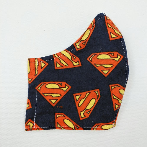 Superman Logo Mask